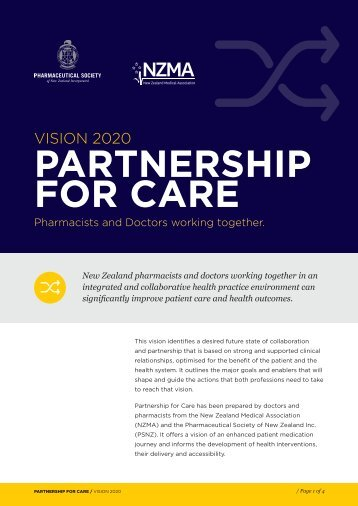 Partnership-for-care-2020-Pharmacists-and-Doctors-working-together-2014-Vision-Printer