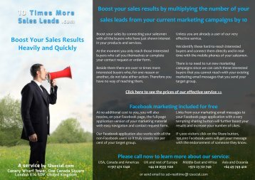 Boost Your Sales Results Heavily and Quickly - Google Drive