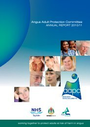 Annual Report 2010/11 (350 KB PDF) - Angus Adult Protection ...