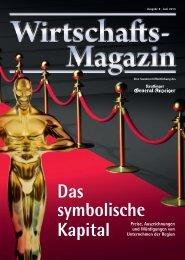 GEA Wirtschaftsmagazin Juni 2013 - tisoware Gesellschaft für ...