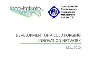 Cold Forging Innovation Network [Modo de compatibilidad]