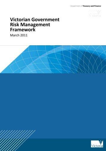 Victorian Government Risk Management Framework - Department of ...