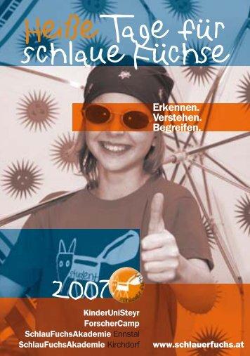 Infokarte KUS 2007 - KinderuniSteyr