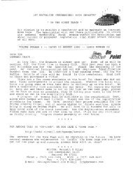 Vol 3, Issue 6, 05 August 1999 - Association of the 1st Battalion ...