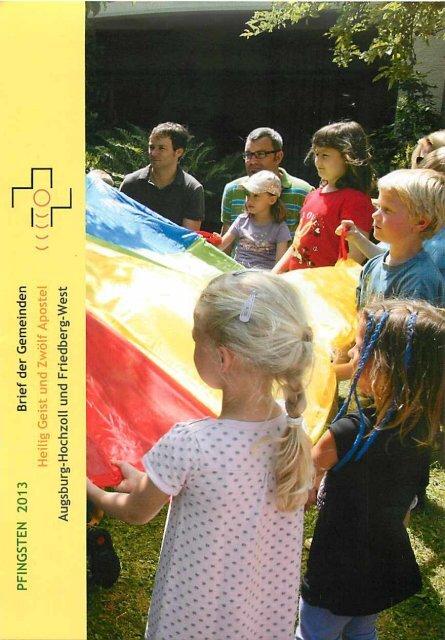 Pfarrbrief Pfingsten 2013 - Katholische Pfarrgemeinden Heilig Geist ...