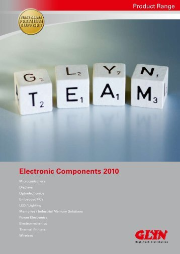 Electronic Components 2010 - GLYN High-Tech Distribution