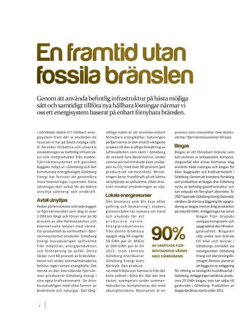 Den energieffektiva staden
