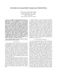 Um Estudo de Caso para Padrões Vegetais com o ... - PUC-Rio