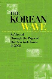 The Korean Wave 2008 - Korean Cultural Service