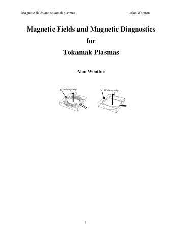 Magnetic Fields and Magnetic Diagnostics for Tokamak Plasmas