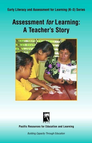 Assessment for Learning: A Teacher's Story - paddle