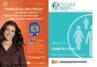 Diabetes-Pass PDF - Österreichische Gesellschaft für Allgemein