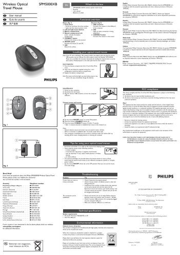 Manual Wireless Optical Mouse