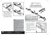 Double Layering Fitting Instructions - Curtain Poles