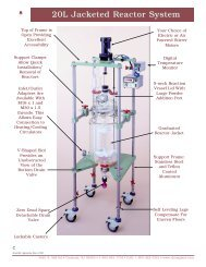 20L Jacketed Reactor System
