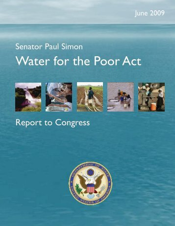 Senator Paul Simon Water for the Poor Act - Environmental Health at ...