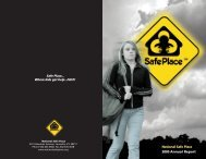 2005 Annual Report - National Safe Place
