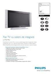 32HF7473/10 Philips TV plat profesional cu Pixel Plus