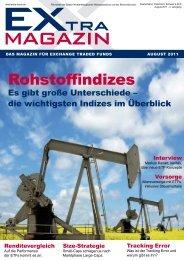 rohstoffindizes - EXtra-Magazin
