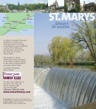 Always in season - Town of St. Marys