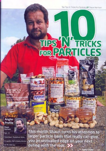 Ten tips and tricks for particles - Quest Baits