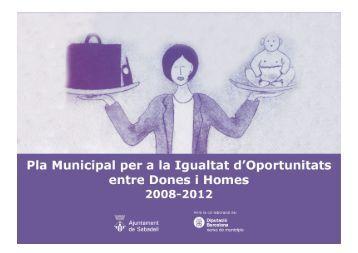 Pla Municipal per a la Igualtat d'Oportunitats entre dones i homes