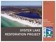 Oyster Lake Restoration Project - Restore America's Estuaries