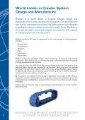 CRAWLER SYSTEMS - Bradken - Page 2