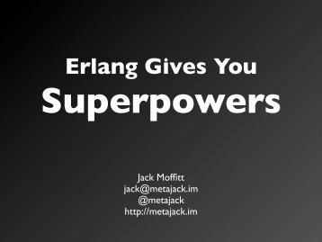 States - Erlang Factory
