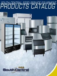 Products - South Central Food Service Equipment