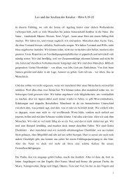 Leo und das Seufzen der Kreatur – Röm 8,18-22 - EMK Winterthur