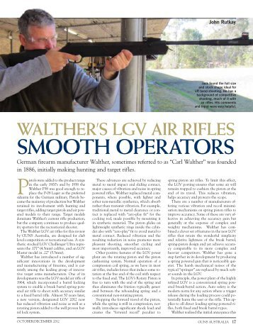 LGV Challenger Ultra & Master Guns Australia Oct ... - Frontier Arms