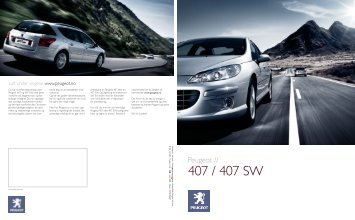PE0057_407-407SW Brochure - Peugeot