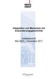 Arbeitsbericht 05.2010-12.2011 - Zuhause im Kreis Soest