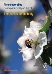 Sustainability Report 2009 - The Co-operative