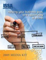 ISSA's 2009 Media Kit - ISSA.com