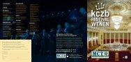 Brochure KCZB Festival - Home | Musicfest.nl MCT reizen