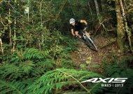 Axis Bikes Catalogue 2013