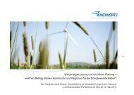 Windenergienutzung und räumliche Planung – welchen ... - ARL