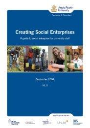 A guide to Social Enterprise