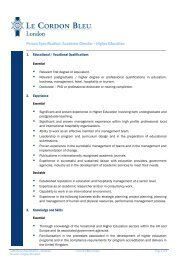 Person Specification - Times Higher Education