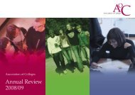 AoC Annual Review - Times Higher Education