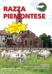 RAZZA PIEMONTESE - Associazione Nazionale Allevatori Bovini di ...