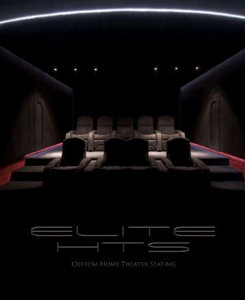 Elite Cinema Seating Brochure - Custom Controls
