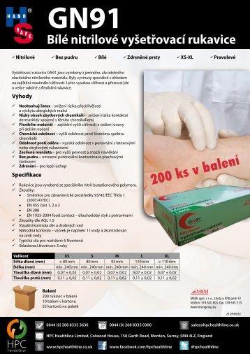 GN91 - DATA SHEET - nový - MSM - čj.pdf - VOCHOC