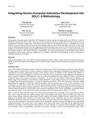 Integrating Human-Computer Interaction Development into SDLC: A ...