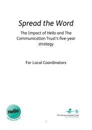 Local Coordinators - The Communication Trust