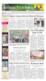 A breath of fresh air - Stonebridge Press and Villager Newspapers