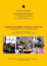 FAMIGLIE E BAMBINI VENUTI DA LONTANO - Comune di Ferrara