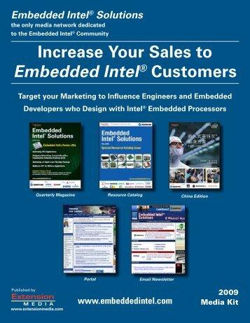 Embedded Intel® Solutions - Extension Media